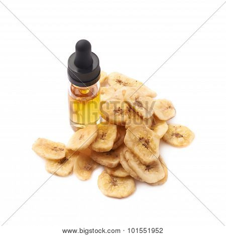 Banana oil essence composition isolated