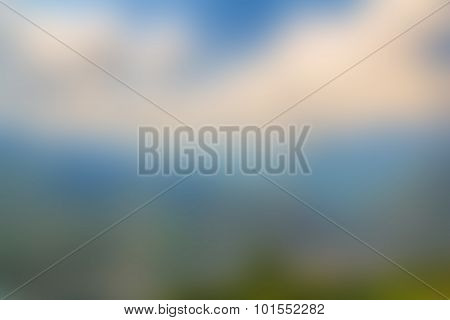 Blurred nature background. Summer holidays concept.