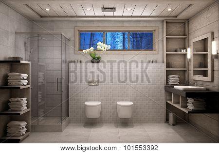 Bathroom Chalet