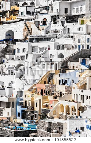 Santorini Fira Steep Perspective