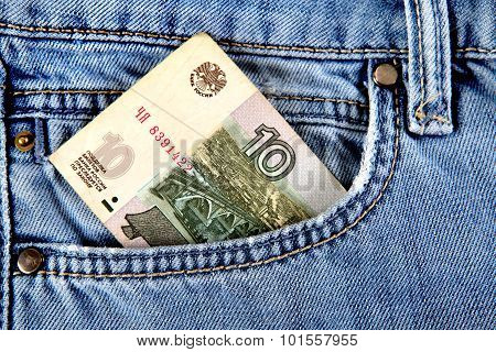 Russian Money In The Pocket