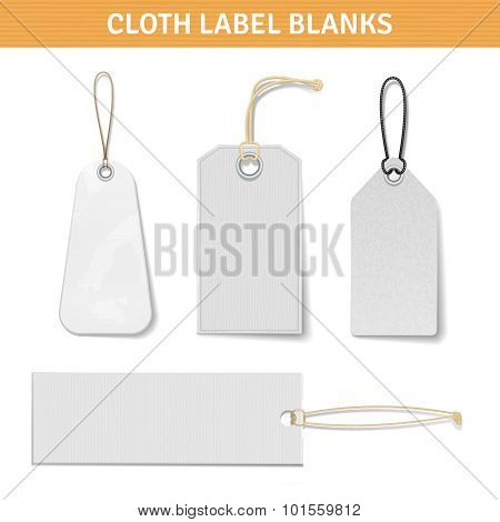 Clothes Label Tags Set