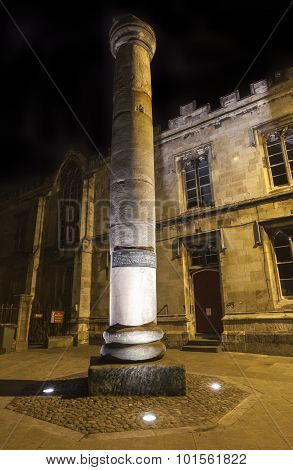 Roman Column In York