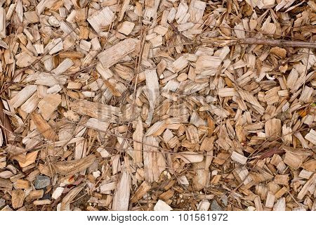 Brown And Tan Wood Chip Background