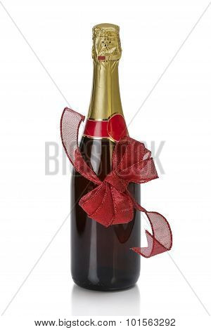 Annibersary Champagne Bottle