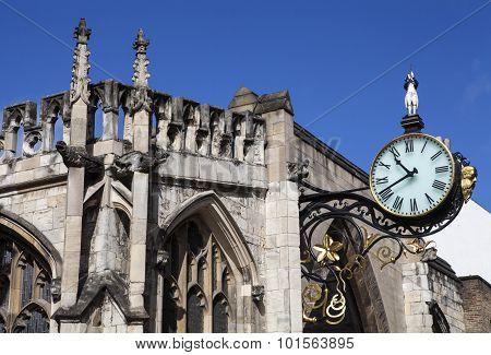 St. Martin Le Grand Church In York