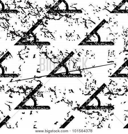 Angle pattern, grunge, monochrome