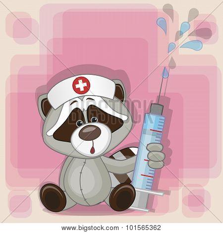 Raccoon Nurse
