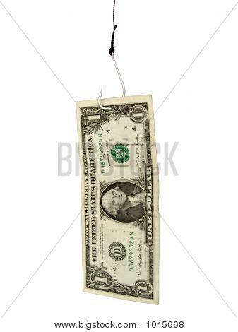 Dollar On A Hook
