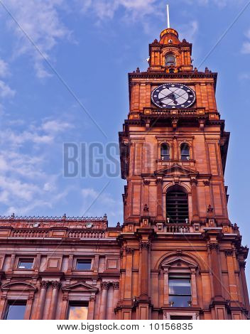 Melbourne Town Hall Clocktower