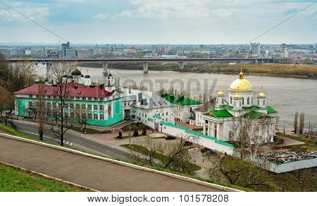 The Church Of St. Alexis In The Annunciation Monastery In Nizhny Novgorod