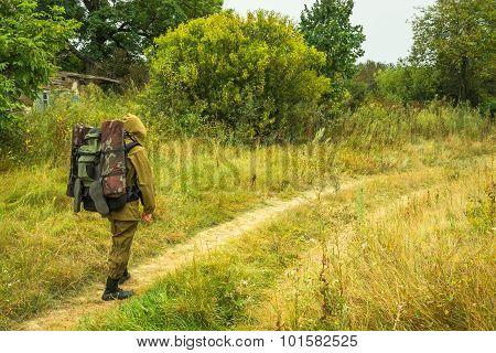 Traveler Tourist  Of Stalker