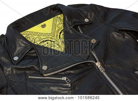 Jacket And Bandana Isolated