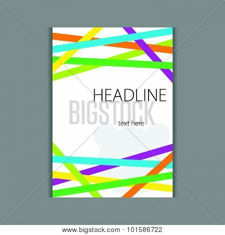 Design Headline Cover Vector