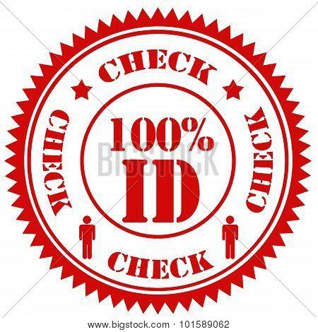 Check 100% Id