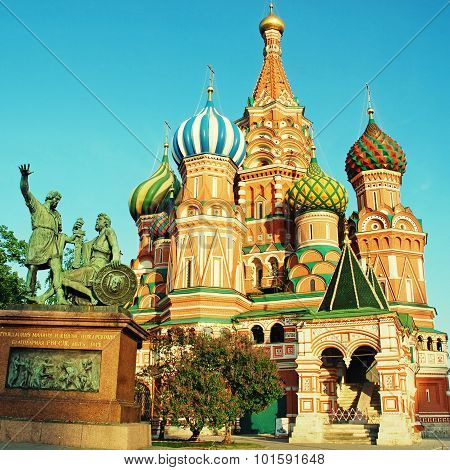 St Basil's Cathedral (Moscow, Russia)