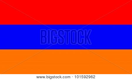 Armenia Flag For Independence Day And Infographic Vector Illustration.