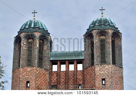 Kreuzkirche - Orthodox Church In Kaliningrad (until  1946 Konigsberg). Russia