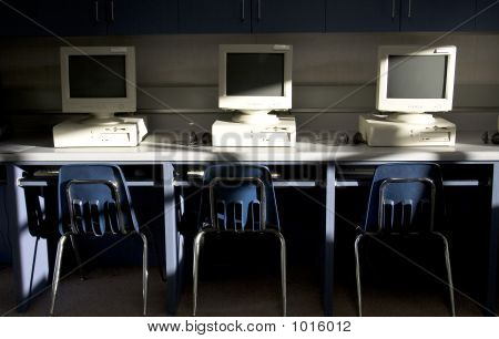 Computers In A Row