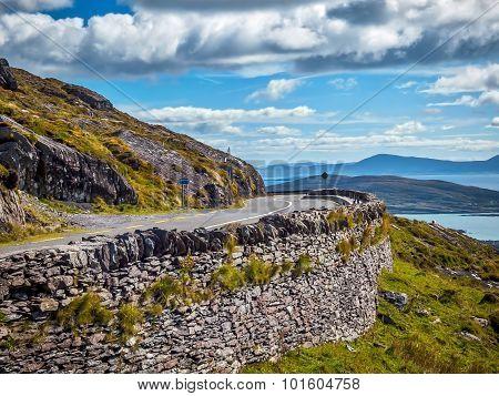 Cobblestone Road to County Kerry, Ireland