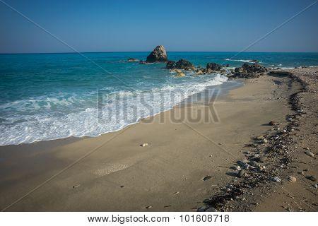 Kalamitsi Beach, Levkada, Ionian Islands, Greece