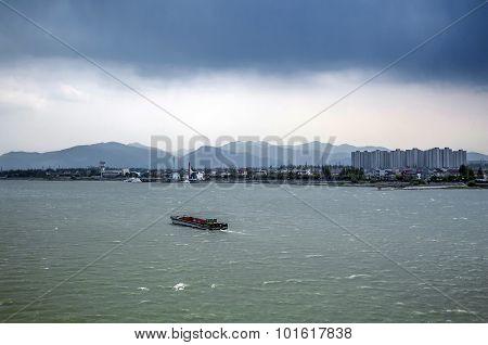 China Hangzhou Qian Tang River