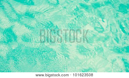 Tropical Water Surface Background