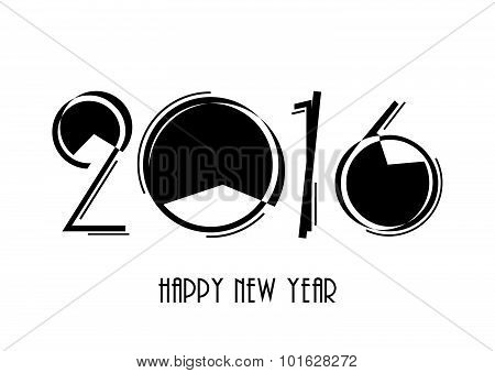 2016 Happy New Year And Christmas Background For Your Greetings Card, Flyers, Invitation, Posters, B