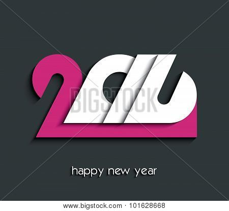 2016 Happy New Year Creative Background For Your Greetings Card, Flyers, Invitation, Posters, Brochu