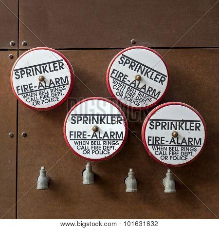 Fire Alarm Sprinklers