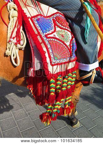 Handmade Saddle Blanket