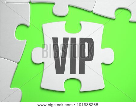 VIP - Jigsaw Puzzle with Missing Pieces.