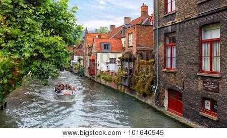 Bruges, Belgium - Aug 18, 2015