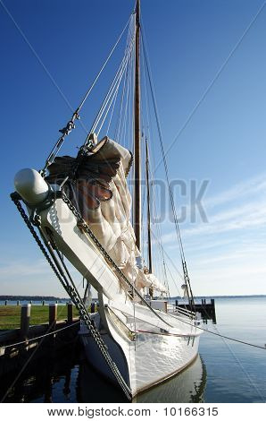 Skipjack Sailboat