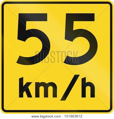 Speed Limit 55 Kmh In Canada