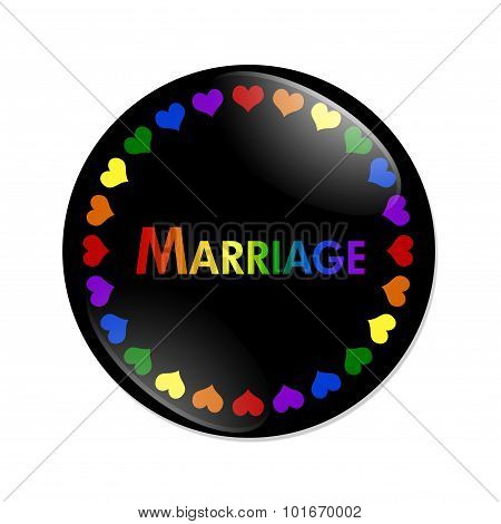 Same-sex Marriage Button