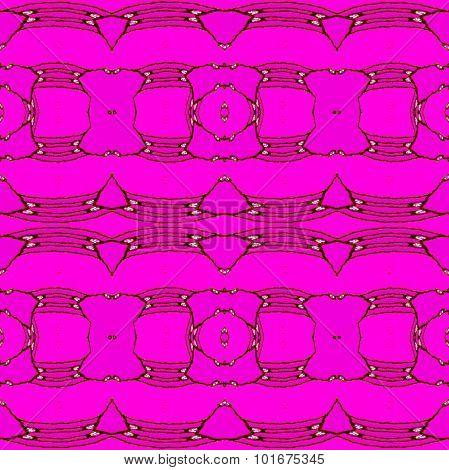 Seamless pattern magenta violet