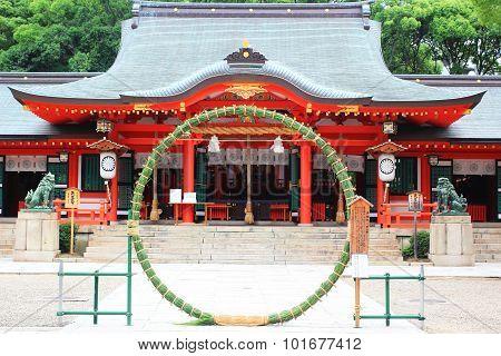 shrine in Kobe