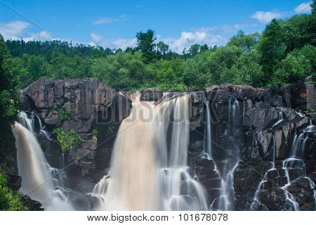 High Falls Of Pigeon River At Grand Portage State Park
