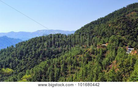 Troodos Mountains, Cyprus