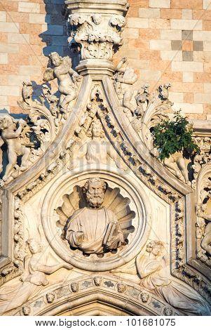 Statue Saint Marks Venice