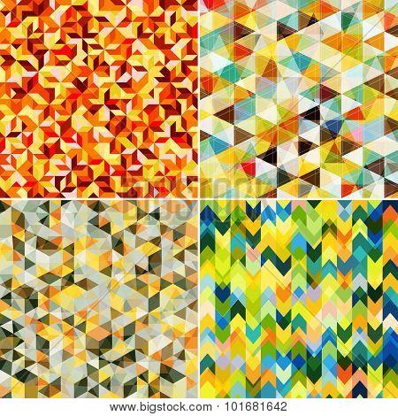 Abstract Mosaic Patterns