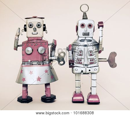 tow robots together