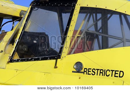 Crop Duster Cabin