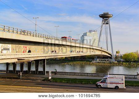New Bridge Of Bratislava