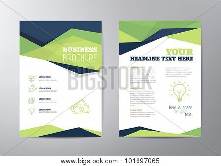 Abstract Layout For a Brochure or Leaflet