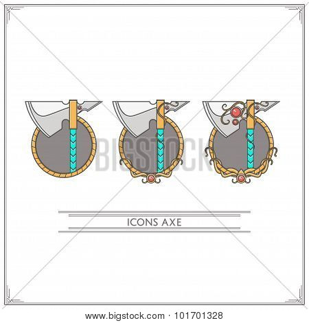 Icons Fantasy Axe