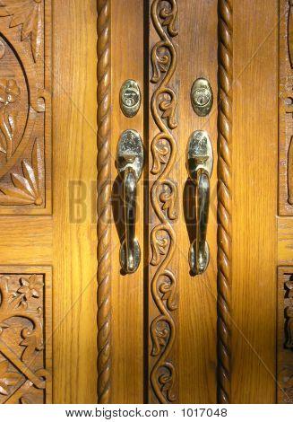 Door Of The Monastery