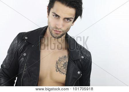 Handsome bad boy