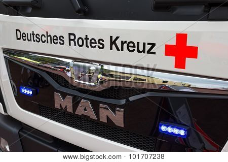 German Red Cross Truck